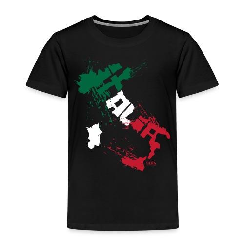 Italia Blanc.png - T-shirt Premium Enfant
