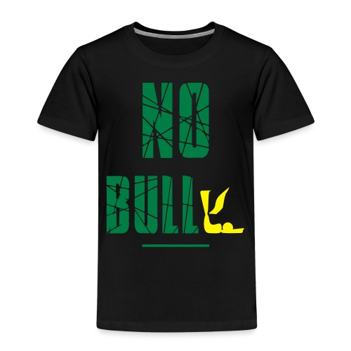 No Bull-y (bully) vector-image - Kids' Premium T-Shirt