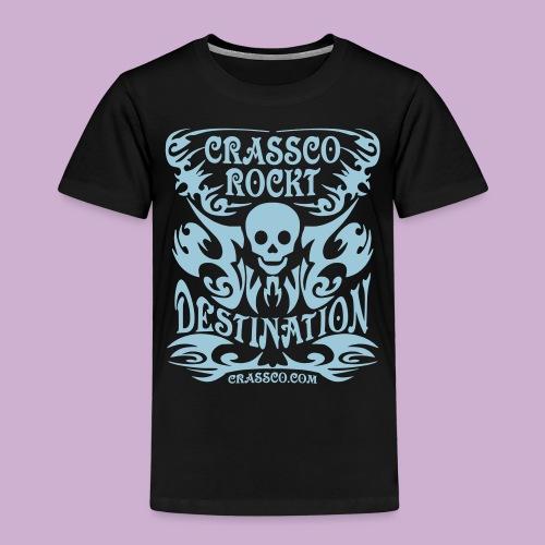 SKULL DESTINATION - Kinder Premium T-Shirt