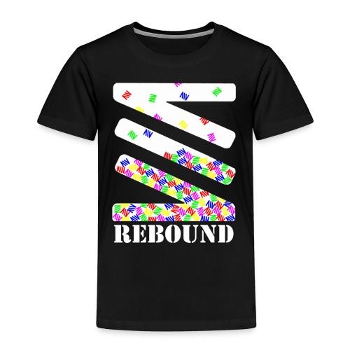 Falling logo - Kids' Premium T-Shirt
