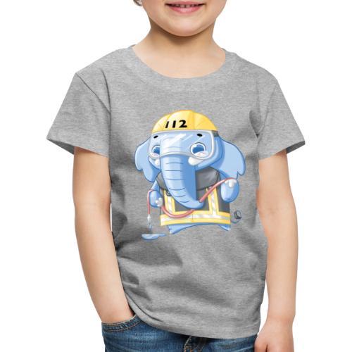 Feuerwehr Elefant - Kinder Premium T-Shirt