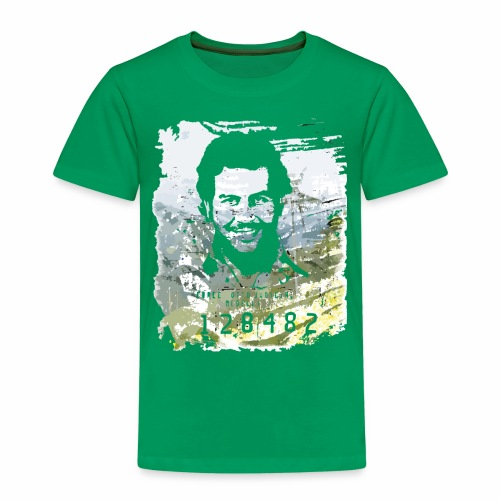 Pablo Escobar distressed - Kinder Premium T-Shirt