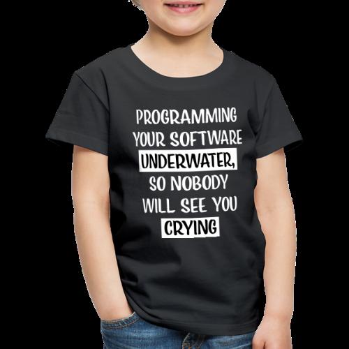 Programming Software Geschenk für Informatiker - Kinder Premium T-Shirt
