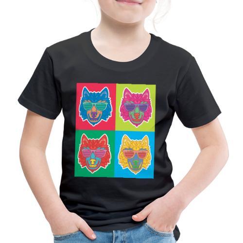 LOUP DESIGN - T-shirt Premium Enfant