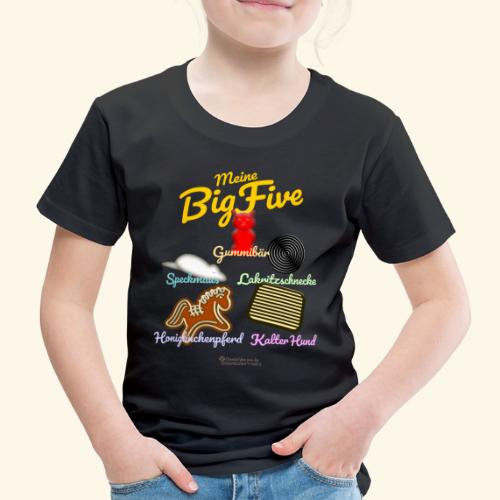 Big Five | Geek T-Shirts - Kinder Premium T-Shirt