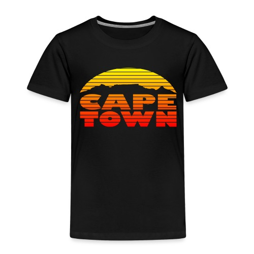 TableMountain-Sunset - Kinder Premium T-Shirt