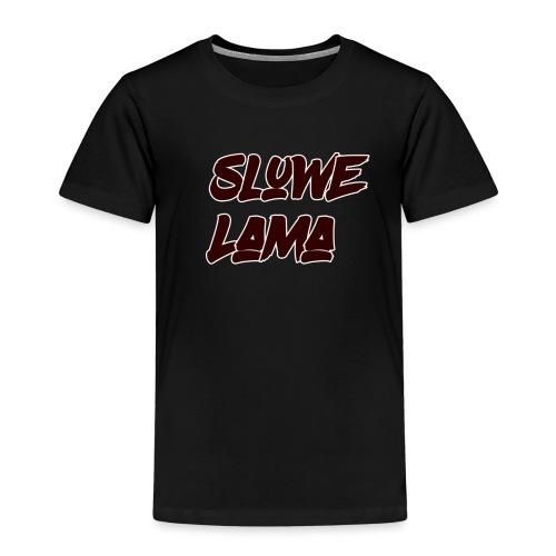 SluweLama - Kinderen Premium T-shirt