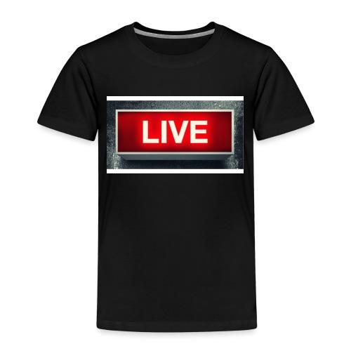 live bord youtube - Kinderen Premium T-shirt