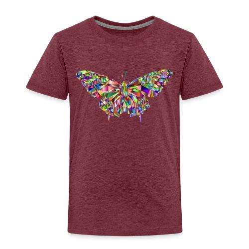 Geflogener Schmetterling - Kinder Premium T-Shirt