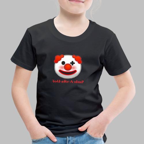 Clown Emoji - Kinderen Premium T-shirt