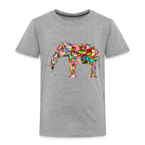 Gestandener Elefant - Kinder Premium T-Shirt