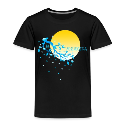 Cherry Blossom Festval Full Moon 2 - Kinder Premium T-Shirt