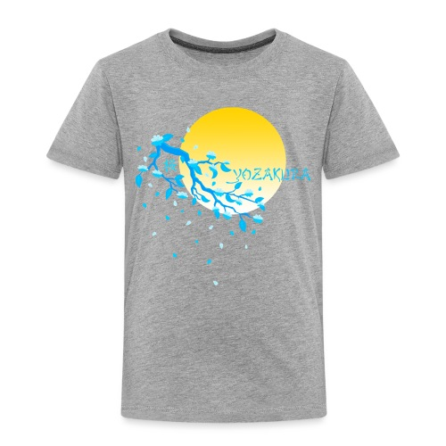 Cherry Blossom Festval Full Moon 2 - Kinder Premium T-Shirt