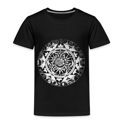 mandala1 jc white - Kids' Premium T-Shirt