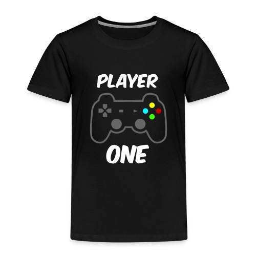 Player ONE - Player TWO Partnerlook - Kinder Premium T-Shirt