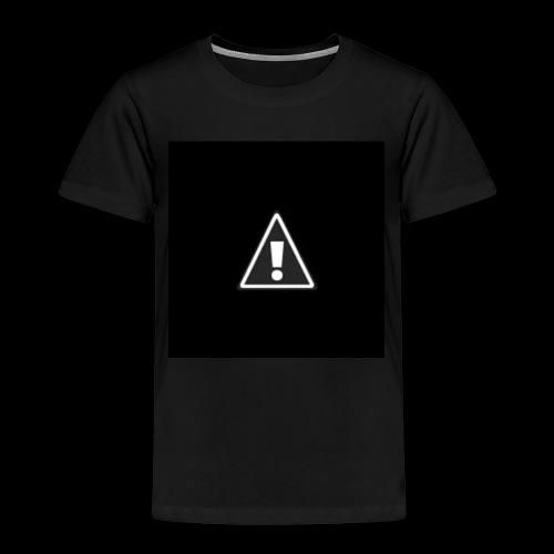 !warning! - Kinder Premium T-Shirt