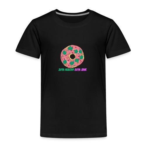 20%Healthy 80%Junk - T-shirt Premium Enfant