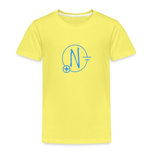 Logo1 blau - Kinder Premium T-Shirt