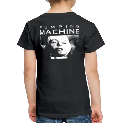 Negant logo + Pumping Machine - Børne premium T-shirt
