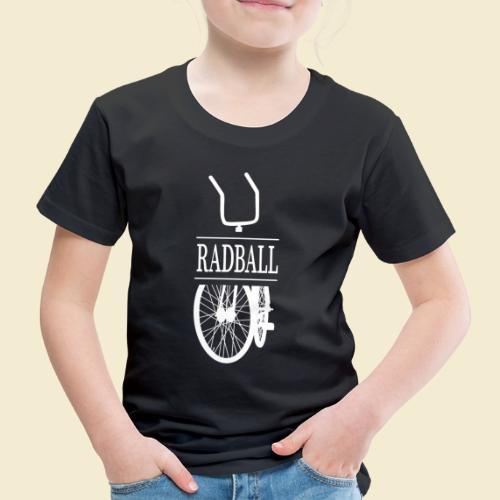 Radball   Retro White - Kinder Premium T-Shirt