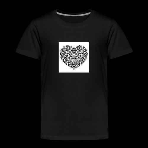 serduszko - Koszulka dziecięca Premium