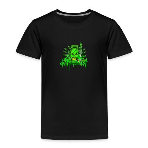 GFSkullOnlyColorShirt - Kids' Premium T-Shirt