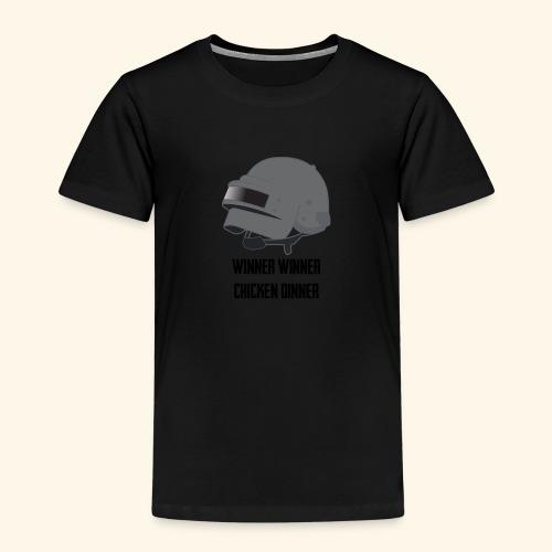 +++PUBG Winner Winner+++ - Kinder Premium T-Shirt