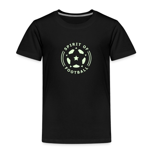 Spirit of Football Logo - Kids' Premium T-Shirt