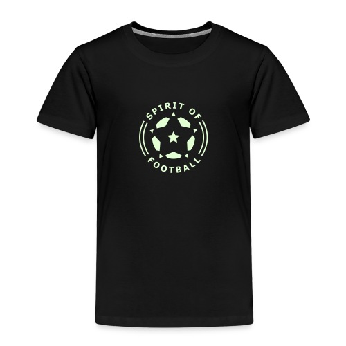 Spirit of Football Logo - Kids' Premium T-Shirt