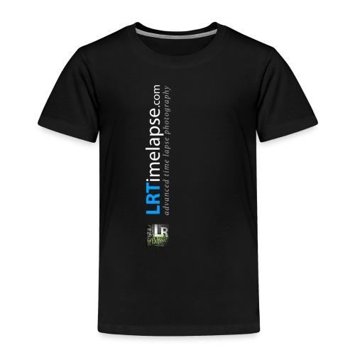 LRTImelapse Shirt Logo Vorne Hoch breiter3 png - Kinder Premium T-Shirt
