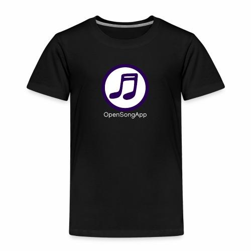 OpenSongApp Round Text - Kids' Premium T-Shirt