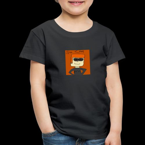 The Cool Guy - Premium-T-shirt barn