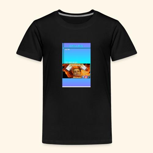 chilling with frileedake1 - Kids' Premium T-Shirt