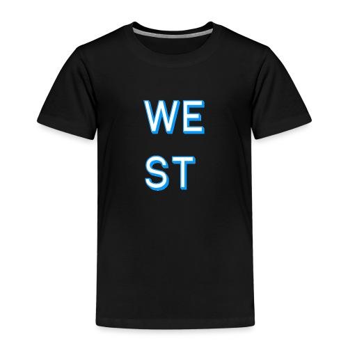 WEST LOGO - Maglietta Premium per bambini