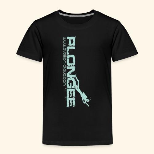 Plongée Evasion Bleue - T-shirt Premium Enfant