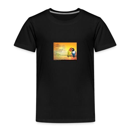 Poème d'amitié - T-shirt Premium Enfant