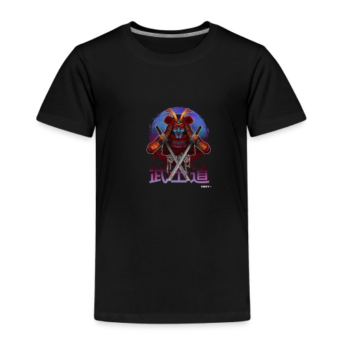 Samurai Japan Artwork Dämon Katana Asien Mr. DiSzy - Kinder Premium T-Shirt