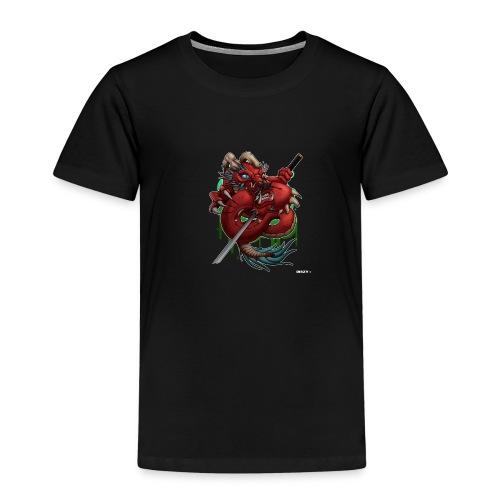 Asia Japan Style Demon Dragon by Mr. DiSzy - Kinder Premium T-Shirt