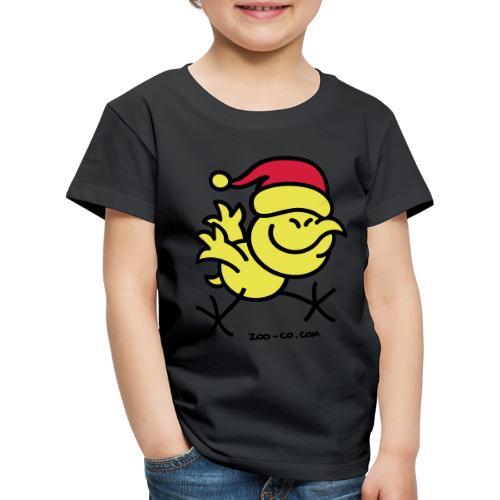 Merry Christmas Chicken - Kids' Premium T-Shirt
