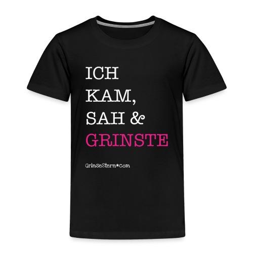 GrinseSternTasse - für echte Kaffeetanten - Kinder Premium T-Shirt