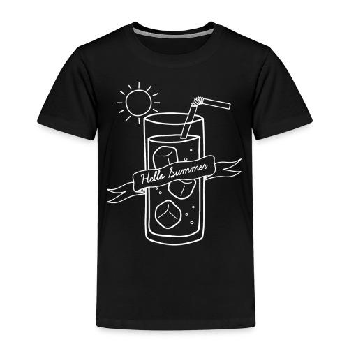 Hello Summer_White - T-shirt Premium Enfant