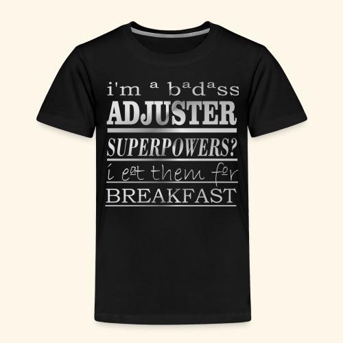 ADJUSTER - Maglietta Premium per bambini