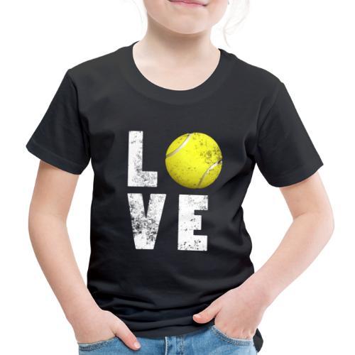 LoveTennis Shirt Ideal Gift For Tennis Players - Camiseta premium niño