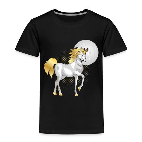 moonlight the unicorn - Kids' Premium T-Shirt