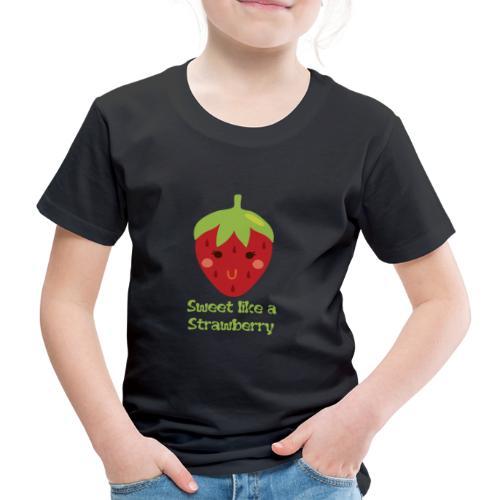 süße Erdbeere - Kinder Premium T-Shirt