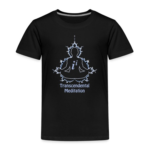 Funny Math Sweatshirt Fractal Transcendental Meditation - Kids' Premium T-Shirt
