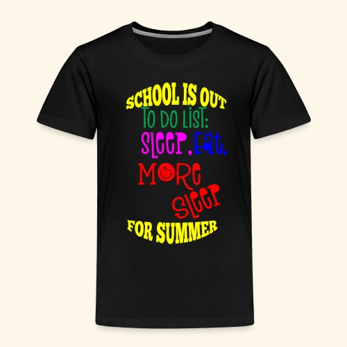 Last day of school - Kids' Premium T-Shirt