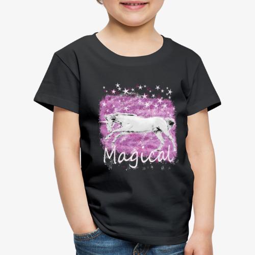 Unicorn Birthday Gift T Shirt for magical girls! - Kids' Premium T-Shirt