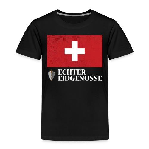 Echter Eidgenosse Schweiz - Kinder Premium T-Shirt