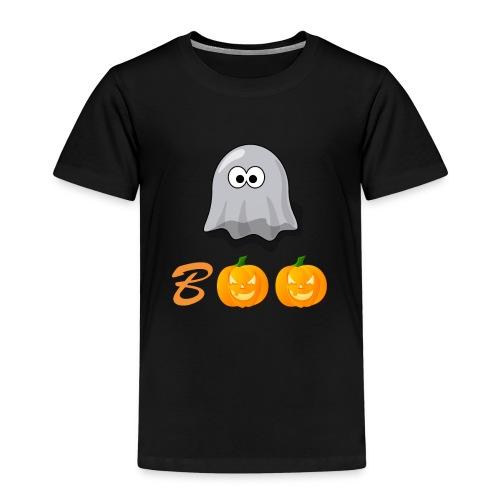 Boo Halloween Geister Kürbis Shirt für Kinder - Kinder Premium T-Shirt
